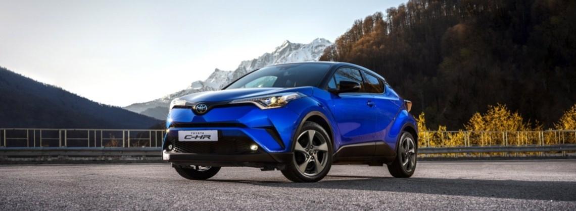 Toyota C-HR: выгода до 200 000 руб.