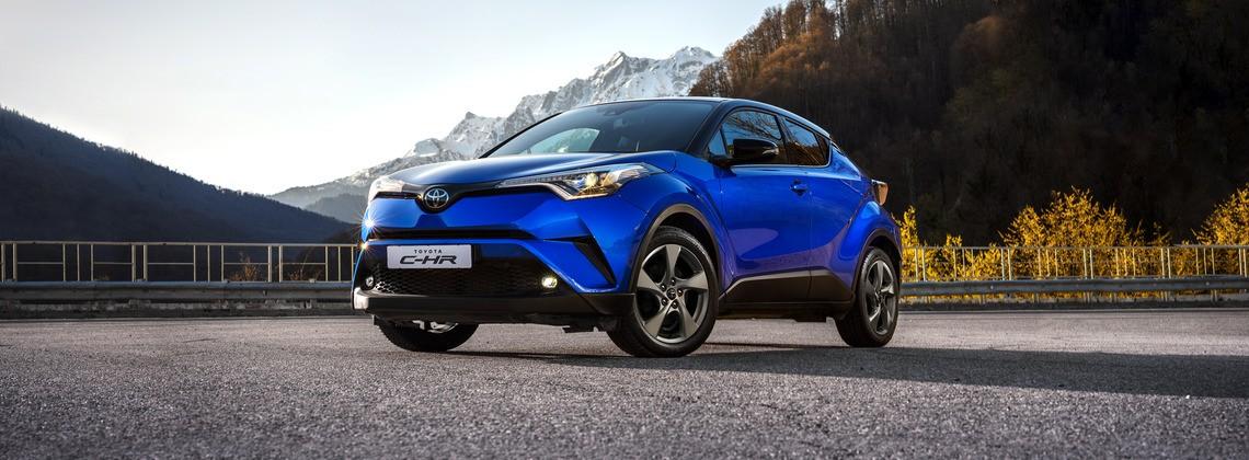 Выгода до 300 000 рублей при покупке Toyota C-HR!