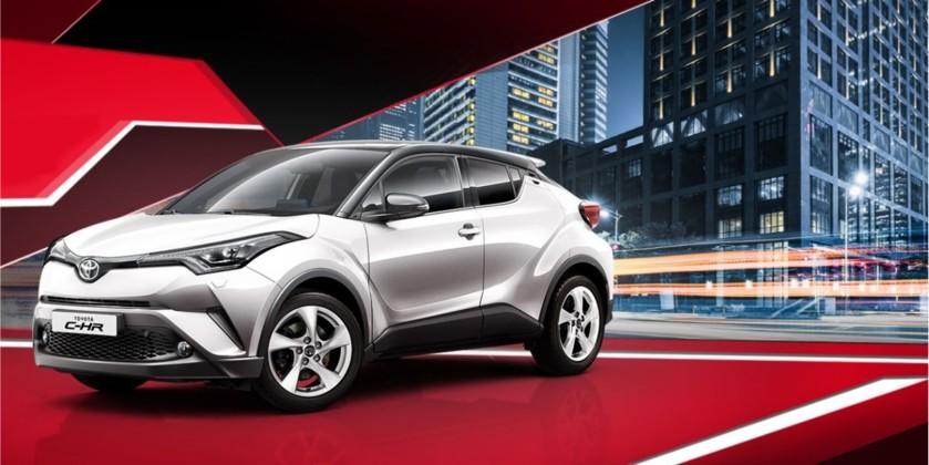 Toyota C-HR: выгода до 400 000 р.