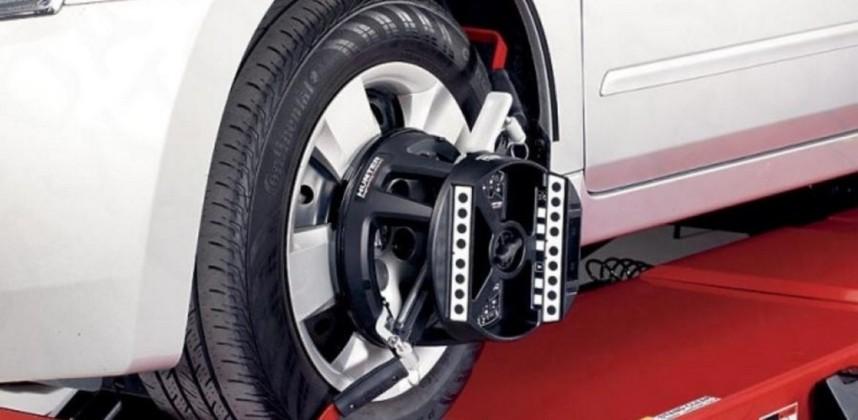 Развал-схождение колёс на инновационном стенде Hunter 3D Hawkeye Elite