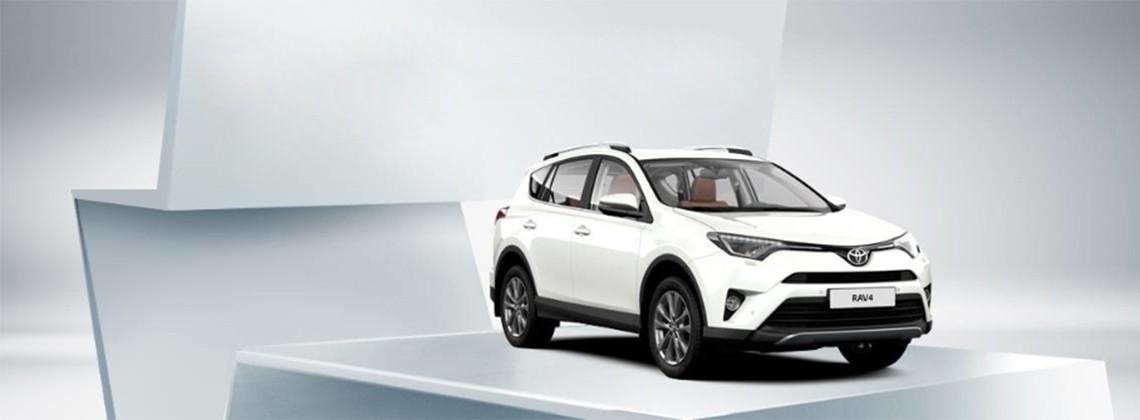 Toyota RAV4: выгода при покупке до 9900 BYN