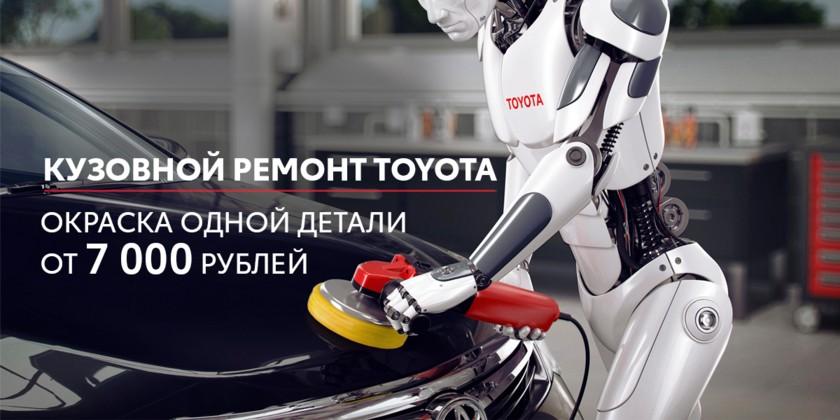 Элементарно: окраска детали кузова от 7 000 рублей
