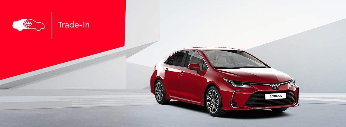 Toyota Corolla: выгода в Trade‑in 3550BYN