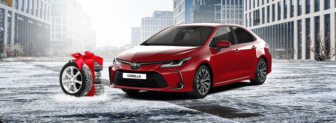 Toyota Сorolla с выгодой по trade-in 3600 BYN + комплект зимних шин в подарок!