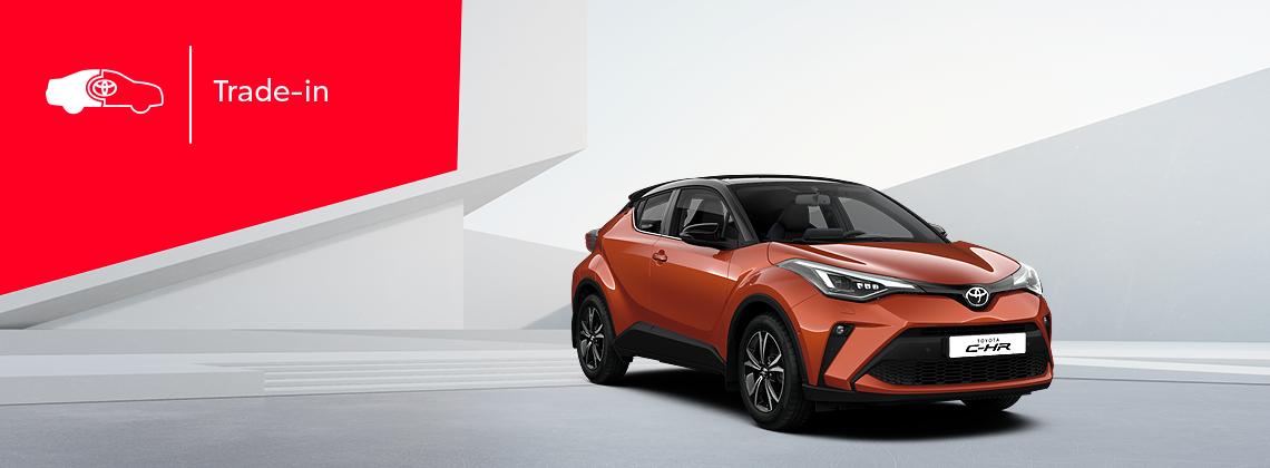 Toyota C-HR: возможная выгода при покупке в Trade-in 1800BYN