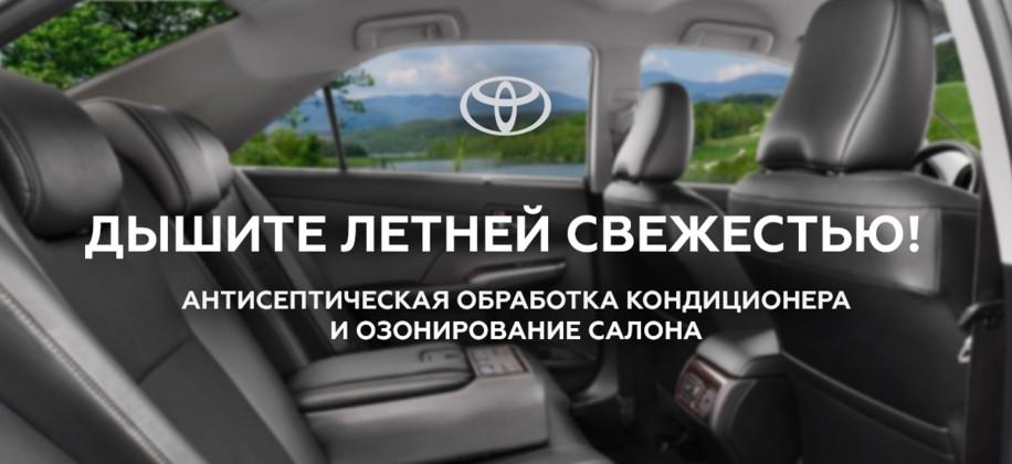 Летняя свежесть Вашего автомобиля!