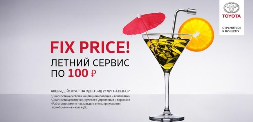 FIX PRICE! Сервис по 100 рублей!