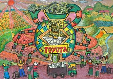 Конкурс детского рисунка Тойота 2014