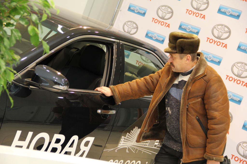 Презентация Новой Toyota Camry в Тойота Центр Брянск