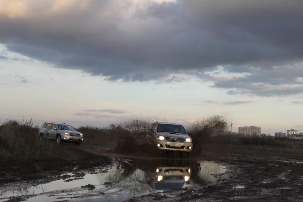 Внедорожный тест-драйв Тойота Центр Брянск