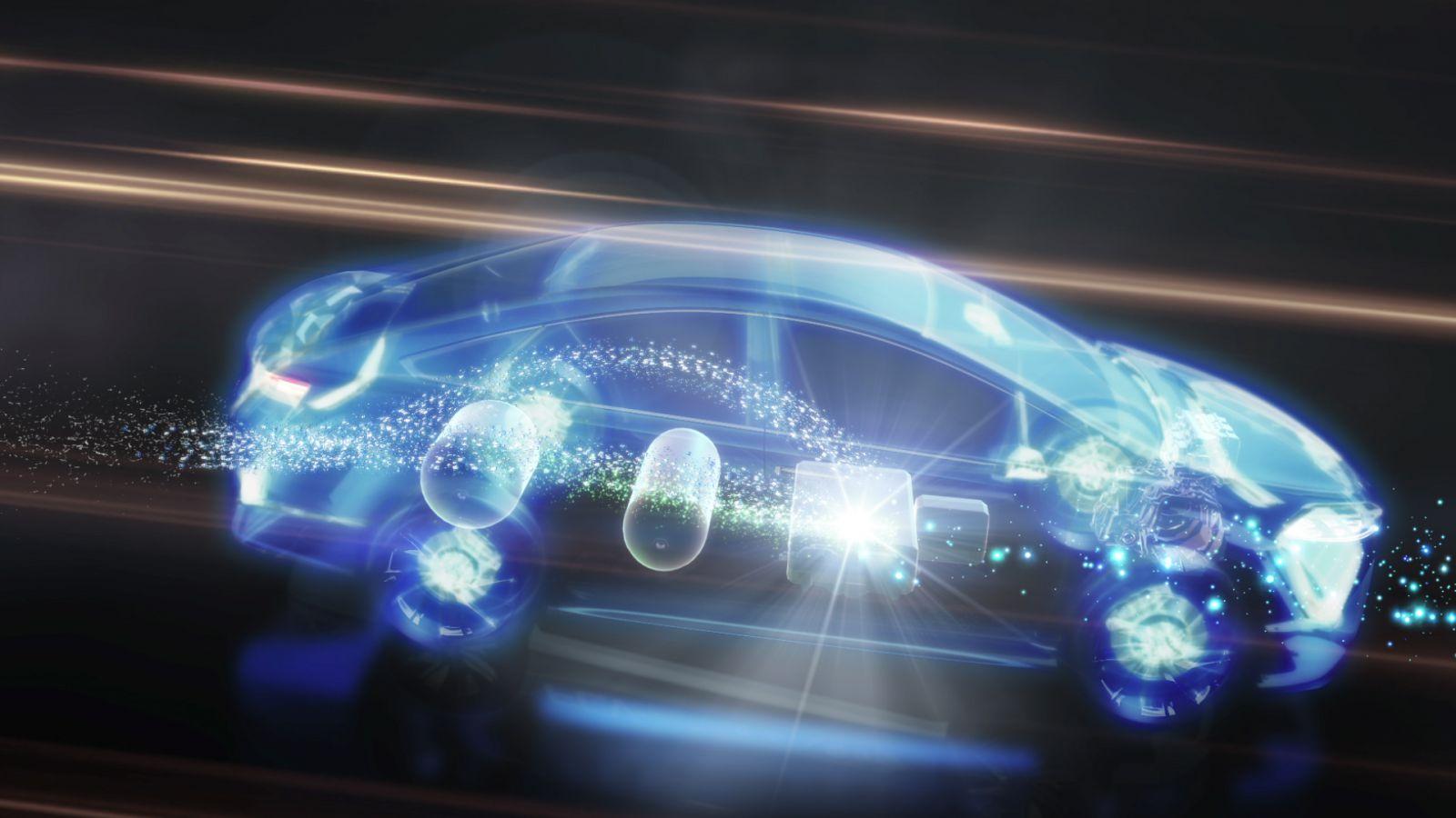 Тойота гибридные технологии