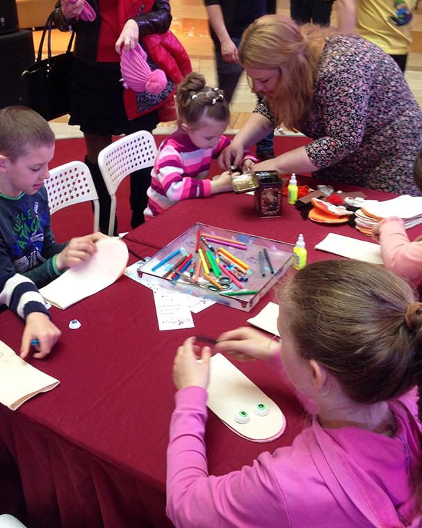 Творчество детей на мастер-классе