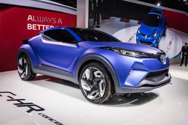 Toyota на Парижском автосалоне-2014