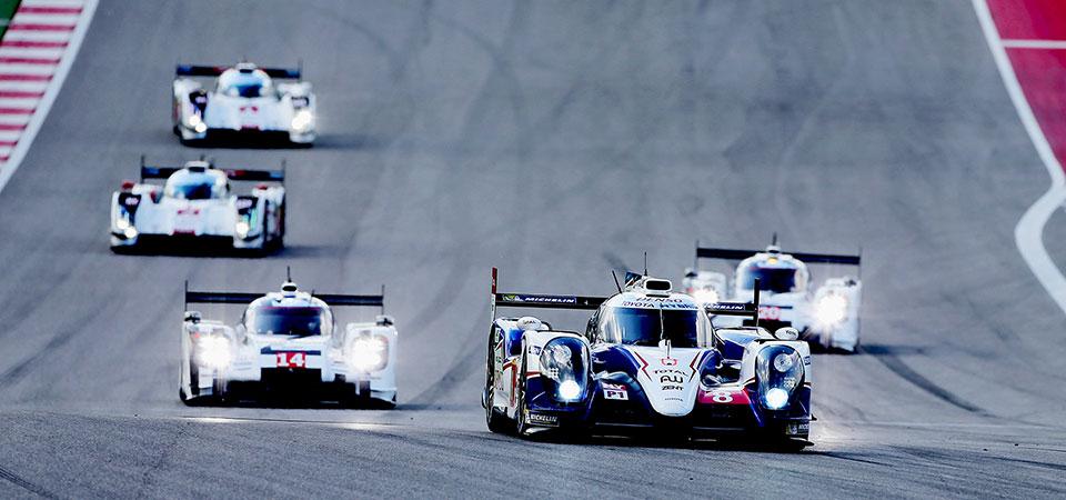 Команда TOYOTA Racing снова на подиуме FIA WEC