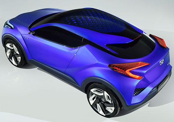 Toyota C-HR - новое слово в дизайне субкомпактных кроссоверов
