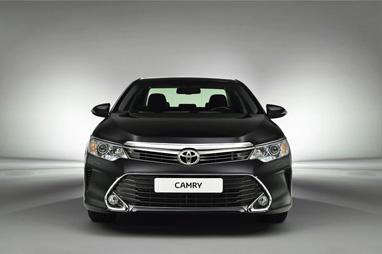 В Москве состоялась мировая премьера новой Toyota Camry