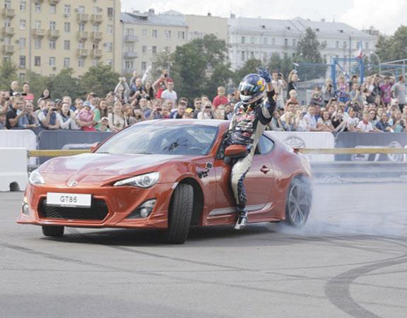 «Toyota GT86-шоу» — заряд адреналина и яркие эмоции