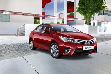 Новые комплектации Toyota Corolla