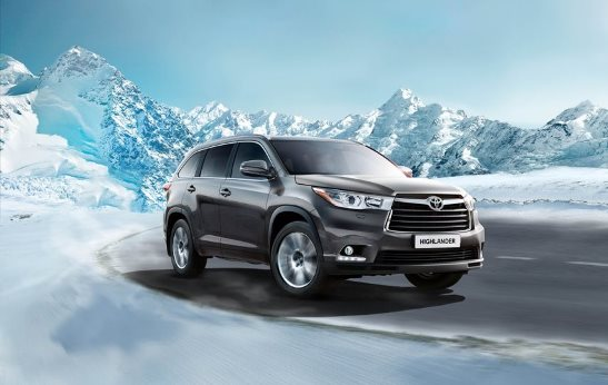 старт продаж нового Toyota Highlander