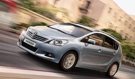 Автомобиль Toyota Verso назван самым безопасным автомобилем в сегменте MPV по шкале Euro NCAP 2010 года