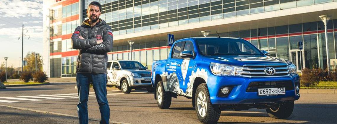 Легендарный рамный пикап Toyota Hilux