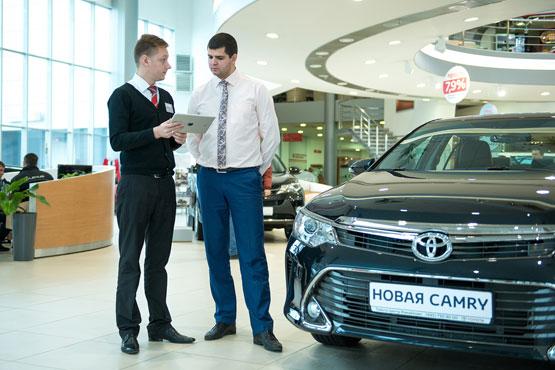 Toyota предложила новый уровень обслуживания клиентов