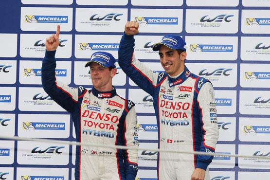 Команда TOYOTA Racing — чемпион мира по гонкам на выносливость