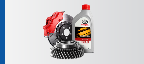 Запасные части и масла Toyota
