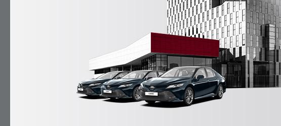 Корпоративные продажи Toyota